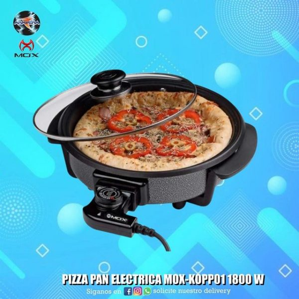 PIZZA PAN ELECTRICA MOX
