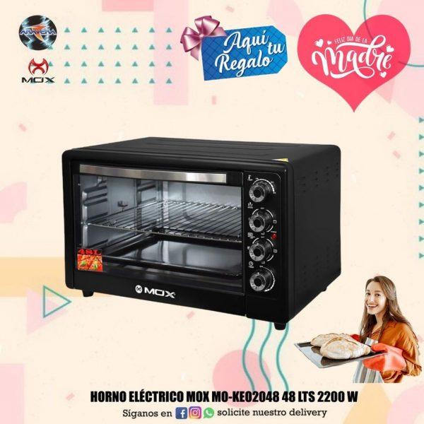 HORNO ELÉCTRICO MOX MO-KE02048 48 LTS 2200 W