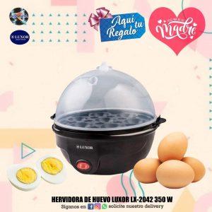 HERVIDORA DE HUEVO LUXOR LX-2042 350W