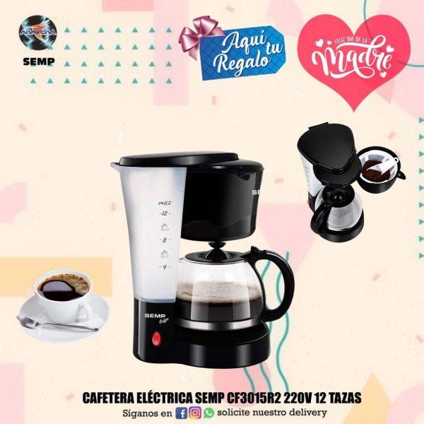 CAFETERA ELECTRICA SEMP CF3015 220V 12 TAZAS