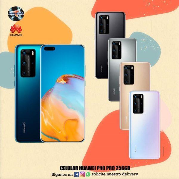 Celular Huawei P40 Pro 256GB📲