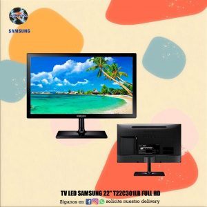 "Tv Led Samsung 22"" T22C301LB Full Hd"