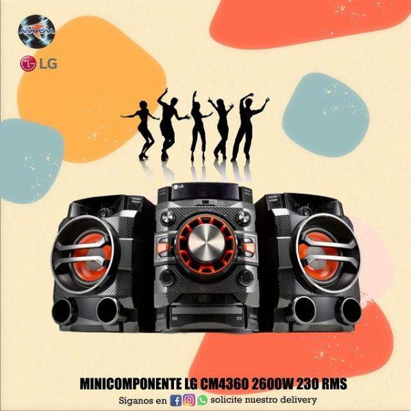minicomponente Lg xboom cm4360