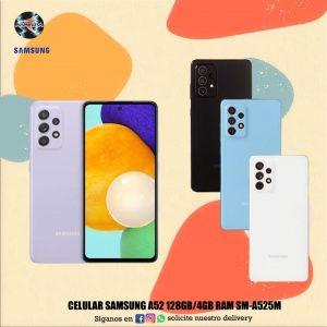 Celular Samsung A52 128GB/4GB RAM SM