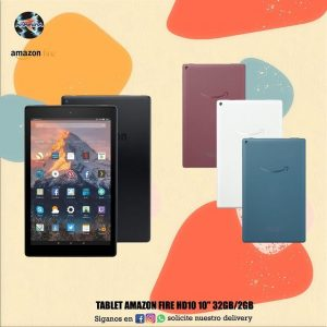 "Tablet Amazon Fire HD10 10"" 32HB/2GB 📲"