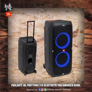 Parlante JBL Partybox 310 Bluetooth/inalambrico Bivolt 🎼