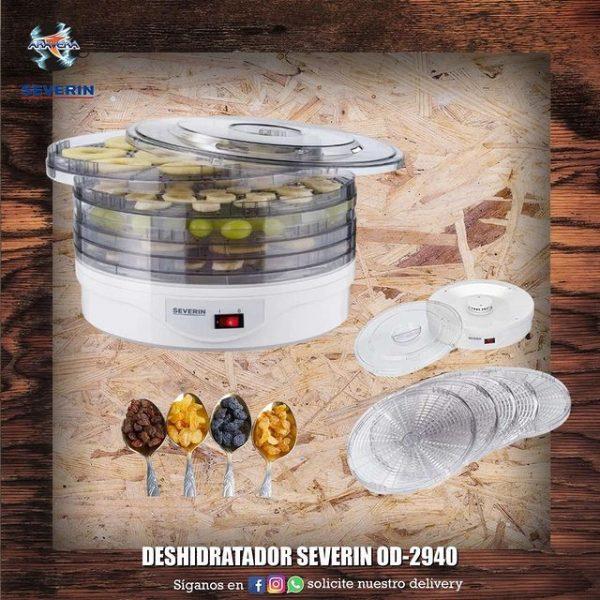 Deshidratador Severin OD-2940 🍊🍎🍅🥦