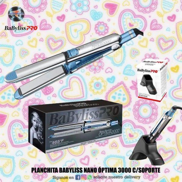 Planchita BABYLISS ÓPTIMA NANO 3000 c/soporte 👩🏼🦱👩🏼🥰
