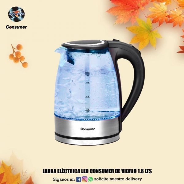 JARRA ELECTRICA CONSUMER LED 1.8 LTS