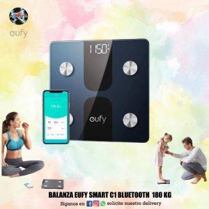 Balanza Eufy smart C1 Bluetooth 180 kg 🦵💪🧔👩🦱👱