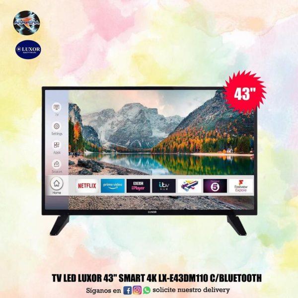 """tv led smart luxor 43"""""""
