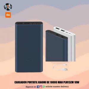 Cargador portátil Xiaomi de 1000 MAh PLM13ZM 18W 📲📱