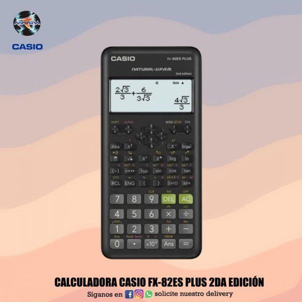 CALCULADORA CASIO FX-82ESPLUS