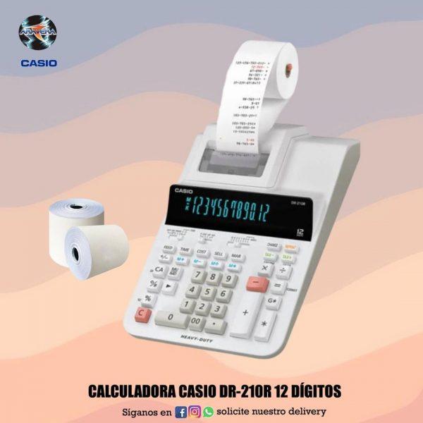 Calculadora Casio DR-120R