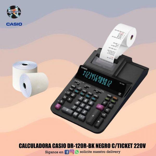 CALCULADORA CASIO C/TICKET