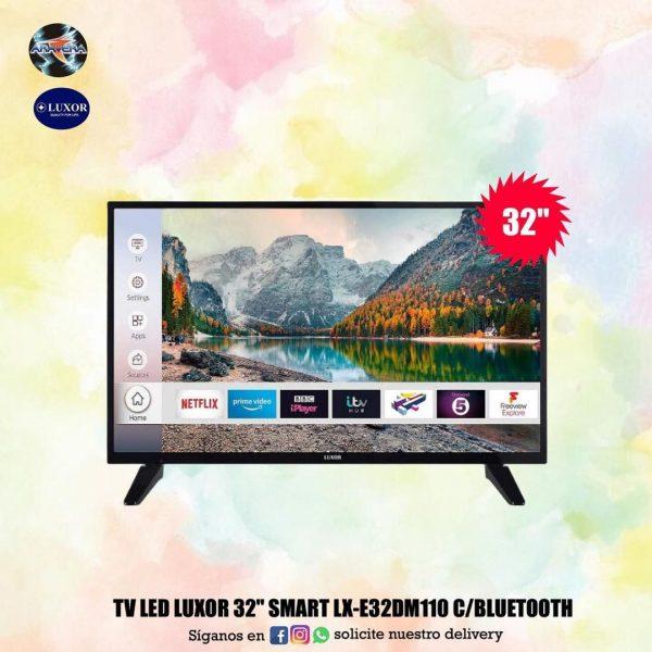 """Tv led luxor 32"""" smart"""