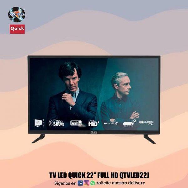 """TV LED QUICK 22"""" FULL HD"""