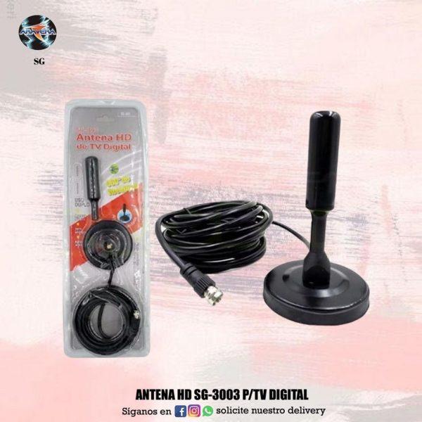 ANTENA HD SG-3003 P/ TV DIGITAL ☑️☑️