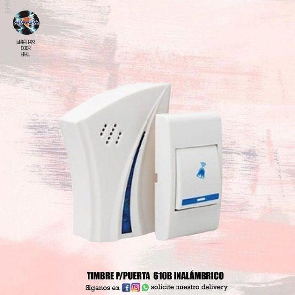 TIMBRE P/ PUERTA 610 INALAMBRICO 💯