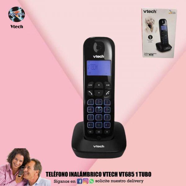 TELÉFONO INALÁMBRICO VTECH VR685 1 TUBO