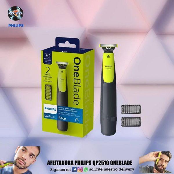 Afeitadora Philips QP2510 Oneblade 🧔🧔🏽♂️👨🏿