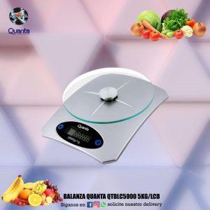 Balanza Quanta QTBLC5000 5kg/LCD 🍋🍇🌽