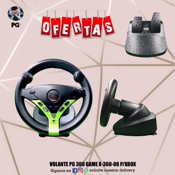 Volante PG 360 Game X-360-08 P/Xbox 🤩🤩🤩