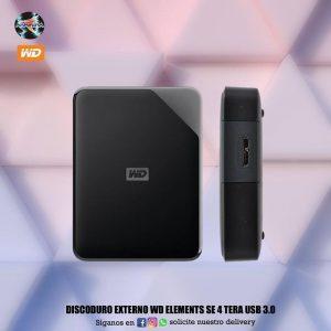 Discoduro externo WD Elements Se 4 tera USB 3.0 💻👩💻👩🏫