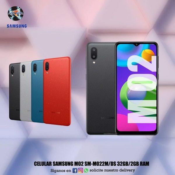 Celular Samsung M02 SM-M022M/DS 32GB/2GB ram 📱📲📱