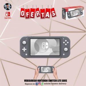 Videojuego Nintendo Switch Lite Gris🤩🤩🤩