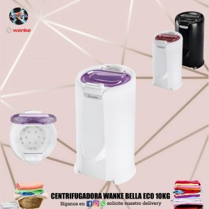 Centrifugadora Wanke Bella Eco 10Kg 👕👚👗🥼