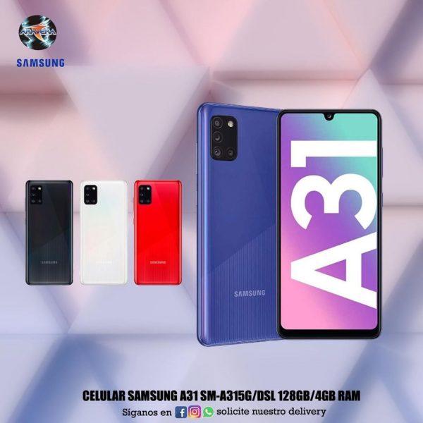 Celular Samsung A31 SM-A315G/DS 128GB/4GB ram📱📲📱