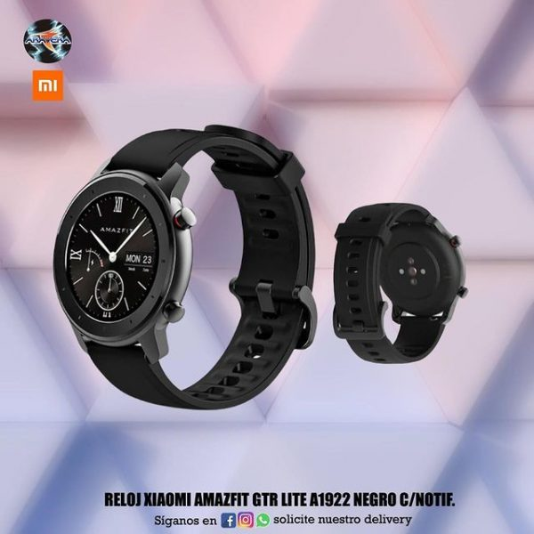 Reloj Xiaomi Amazfit GTR Lite A1922 negro ⌚️📱📲