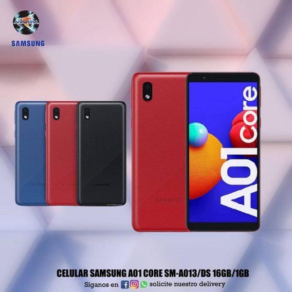 Celular Samsung A01 Core SM-A013/DS 16GB/1GB Ram 📲📱