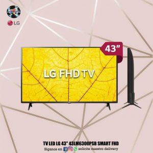 """👀TV LED LG 43"""" 43LM6300PSB SMART FHD⚽️🏓"""