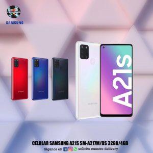 Celular Samsung A21S SM-A217M/DS 32GB/4GB 📲📱📲