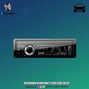 AUTORADIO BLAUNPUNKT 120BT USB/SD/BT