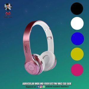 AURICULAR MOX MO-F899 BT FM MIC SD AUX