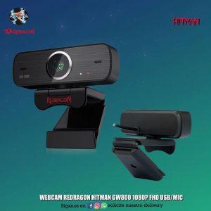 WEBCAM REDRAGON HITMAN GW800