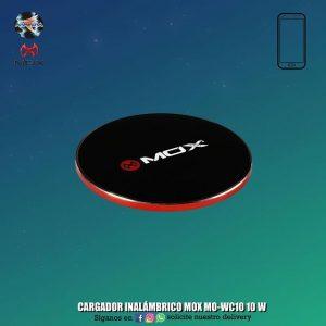 CARGADOR INALÁMBRICO MOX MO-WC10